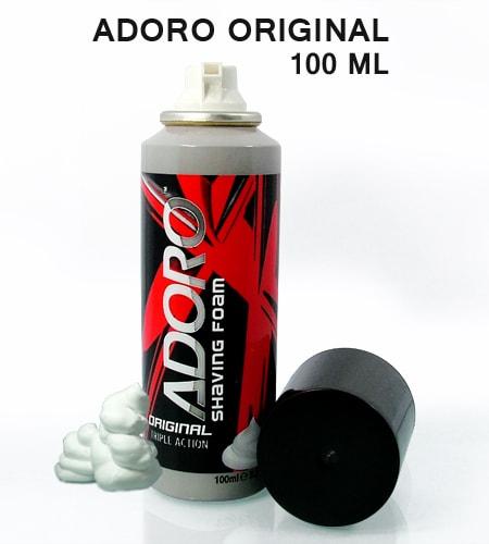 Adoro oroginal shaving foam 100ml -3