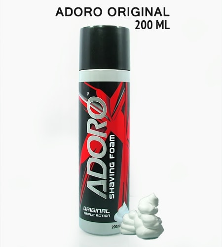 Adoro oroginal shaving foam 200ml -2