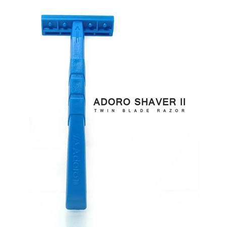Adoro shaver II back