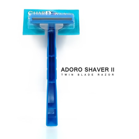 Adoro shaver II pack