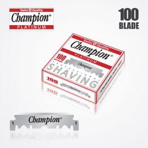 shaving blades DURABLADE SWISS QUALITY CHAMPION PLATINUM HALF BLADE B100