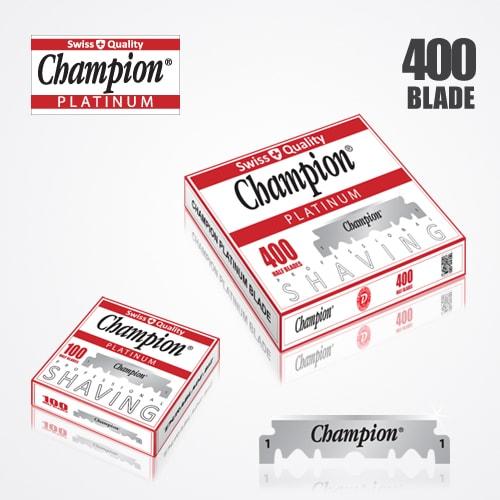 DURABLADE SWISS QUALITY CHAMPION PLATINUM HALF BLADE B400 1