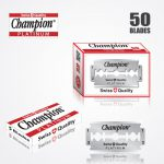 DURABLADE SWISS QUALITY CHAMPION PLATINUM DOUBLE EDGE RAZOR BLADES T5-50 PCS 1