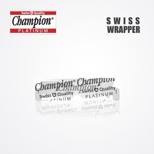 DURABLADE SWISS QUALITY CHAMPION PLATINUM HALF BLADE B100 3
