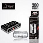 LOI TITANIUM DOUBLE EDGE DURABLADE SWISS QUALITY RAZOR BLADES T10-B200 PCS 1
