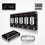 LOI TITANIUM DOUBLE EDGE DURABLADE SWISS QUALITY RAZOR BLADES T5 B100 P500 PCS 1