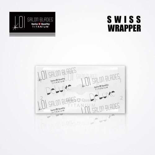 LOI TITANIUM DOUBLE EDGE DURABLADE SWISS QUALITY RAZOR BLADES 5 PCS 3