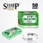 SHARP 7AM SUPER PLATINUM DOUBLE EDGE DURABLADE SWISS QUALITY RAZOR BLADES – 50PCS 1