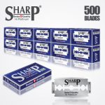 SHARP HI PLATINUM DURABLADE SWISS QUALITY DOUBLE EDGE RAZOR BLADE T5 B50 P500 PCS 1