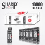 SHARP TITANIUM DOUBLE EDGE DURABLADE SWISS QUALITY RAZOR BLADES – T5 B10,000 PCS 1