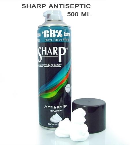 Sharp Antiseptic Shaving Foam 500ml -3