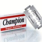 champion double edge blade
